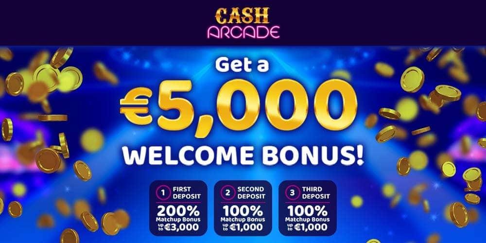 Cash Arcade Banner