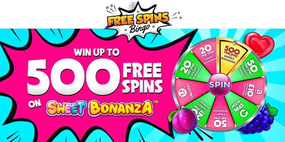 Free Spins Bingo Banner