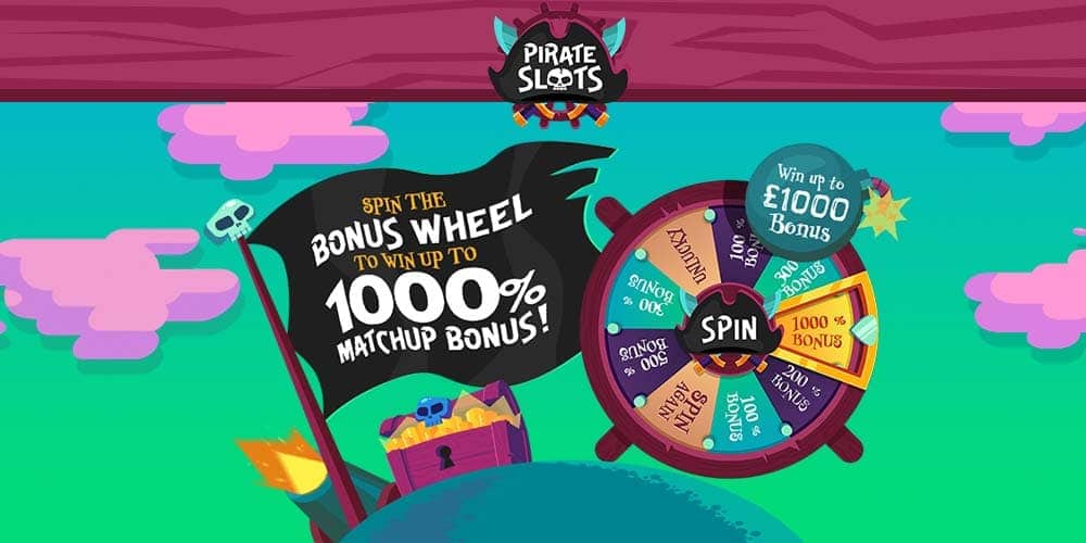 Pirate Slots Banner