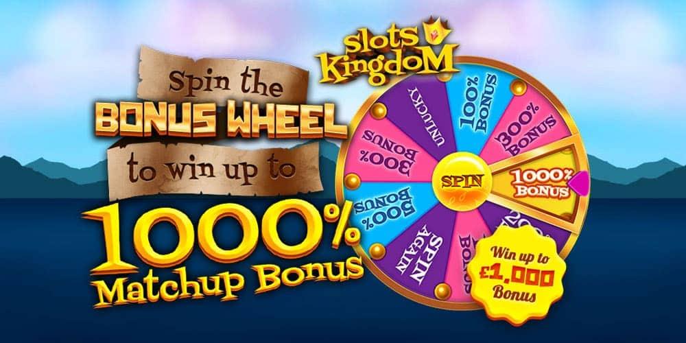 Slots Kingdom Banner