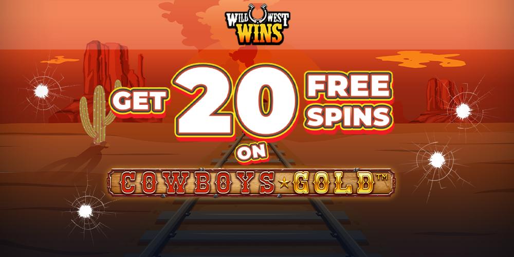 Wild West Wins Banner