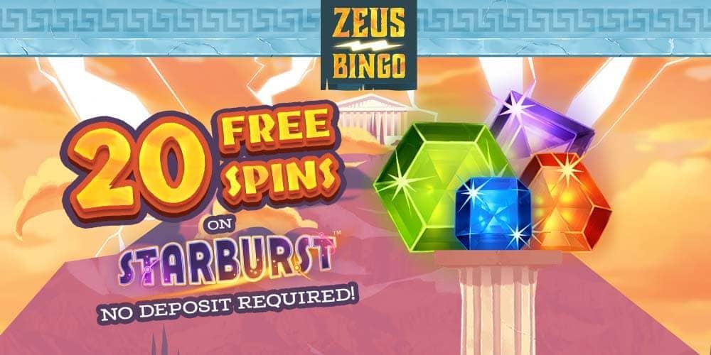 Zeus Bingo Banner